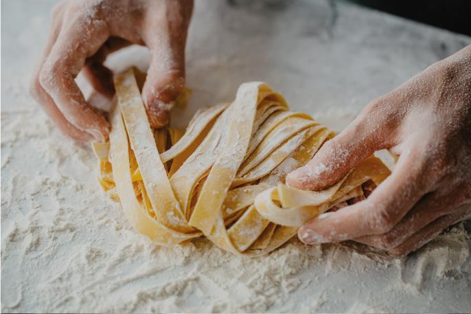 הכנת פסטה פטוצ'יני